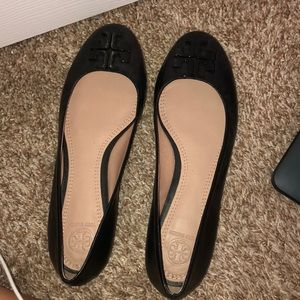 Tory Burch flats size 9 worn once
